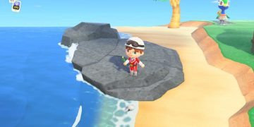 Animal Crossing New Horizons player recreates a stunning map of their island with screenshots
