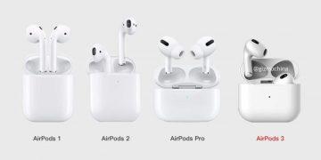 Los Apple AirPods 3 más cerca que nunca, rumores apuntan a un lanzamiento marzo 29