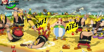 Asterix & Obelix Slap Them All announced for PS4, Switch and Xbox, a beat'em up with graphics nailed to the comic