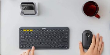 Browse your Smart TV in total comfort with this Logitech wireless keyboard with touchpad included for 32.99 euros