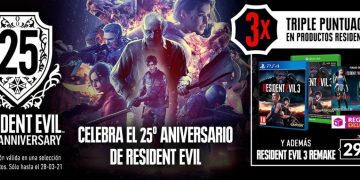 Celebrate Resident Evil's 25th anniversary in GAME with discounted RE 3 Remake, triple scoring, merchandise