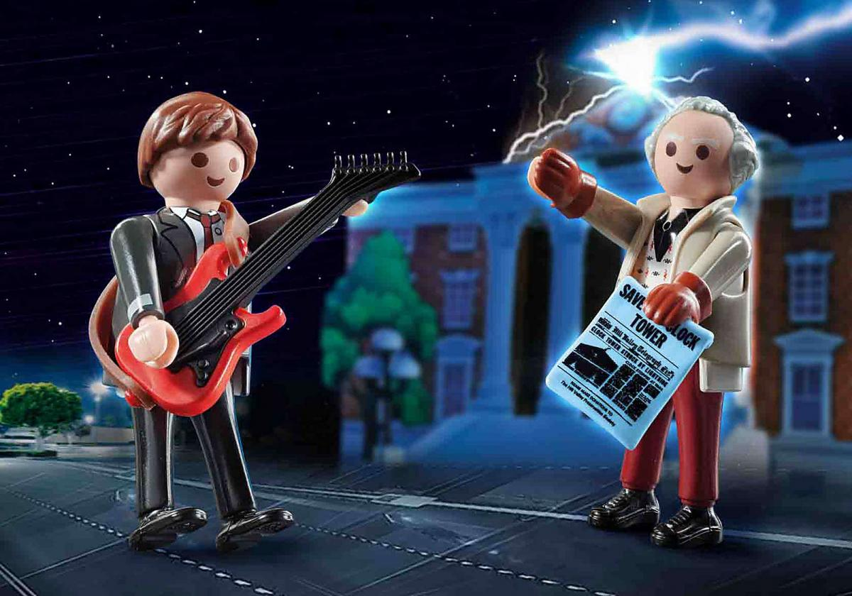 Chollazo for nostalgics: Marty McFly and Doc's Playmobil, for only € 8.99 at Amazon