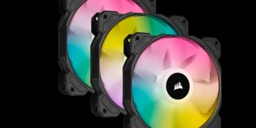 Corsair iCUE SP RGB Elite: ventilación inteligente