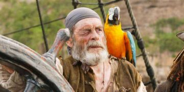 David Bailie, who played Cotton, the tongueless pirate in Pirates of the Caribbean, has died