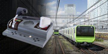 Densha from Go!  Plug and Play.  A Japanese train simulator, straight to TV