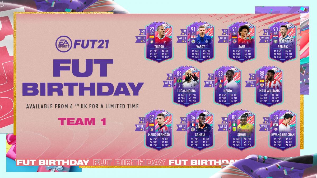 FIFA 21 FUT Birthday - When It Starts, All Players, Objectives, SBCs, Rewards, And What You Need To Know