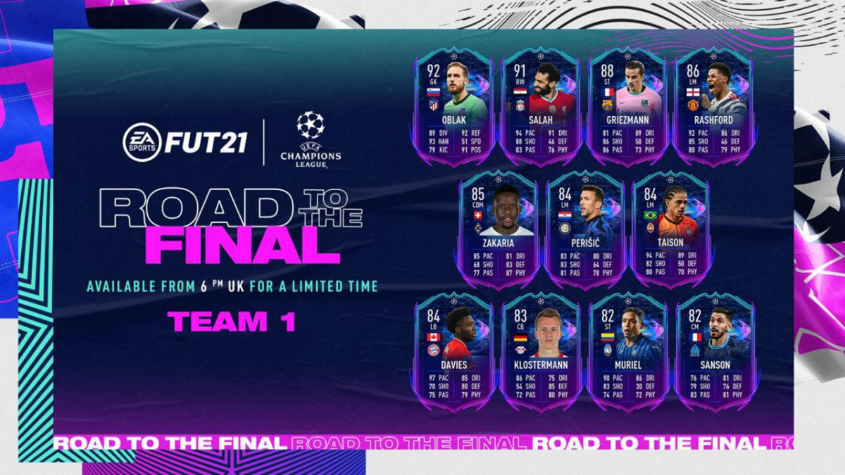 FIFA 21 RTTF: all Road to the Final cards available and confirmed upgrade