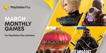 PlayStation PS Plus juegos gratis Final Fantasy VII Remake