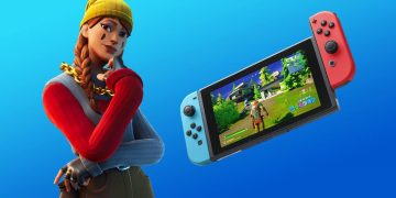 Fortnite updates on Nintendo Switch improving resolution and performance