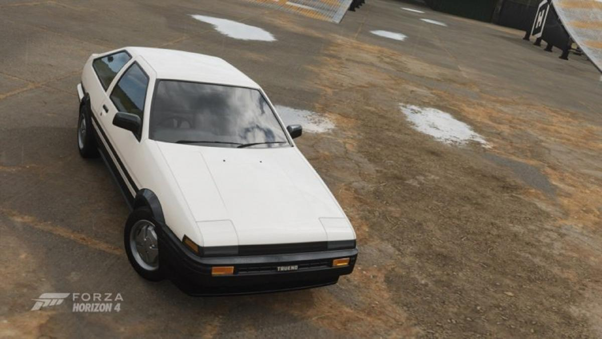 Forza Horizon 4: How to get the Toyota AE86 or Toyota Trueno from the event that is no longer available