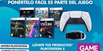 Get PS5 games and accessories in 3 months without interest only in GAME stores