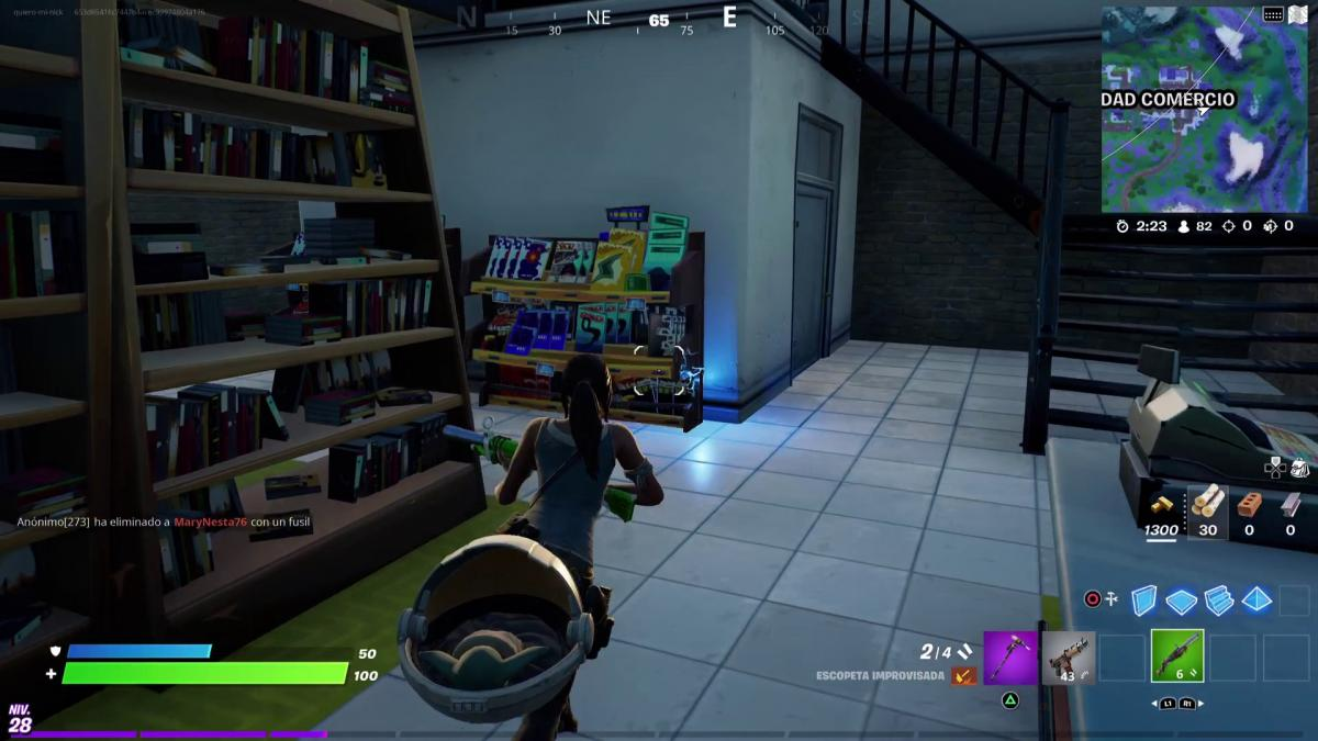 Get literature samples in Pleasant Park, Sleeping Pools and Commerce City in Fortnite week 2
