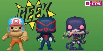 Get the Funkos of Spider-Man 2099 or Buffed Chopper in GAME stores, as part of the special ECCC 2021