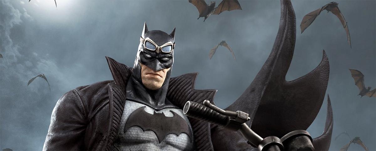 God of War art director draws a spectacular Batman