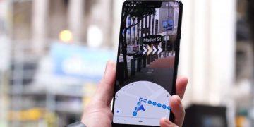 Google Maps AR Realidad Aumentada