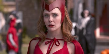 Hot Toys presents its new and impressive Scarlet Witch figure with the new costume seen in the series