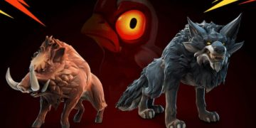 How to tame wolves and boars in Fortnite season 6