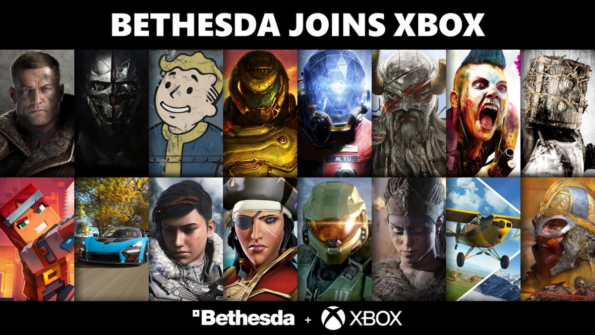 Microsoft confirms that some Bethesda games will be exclusive to Xbox and PC after the purchase of the company