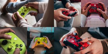 Microsoft introduces two new controllers for Xbox Series X | S: High Voltage and Daystrike Camo