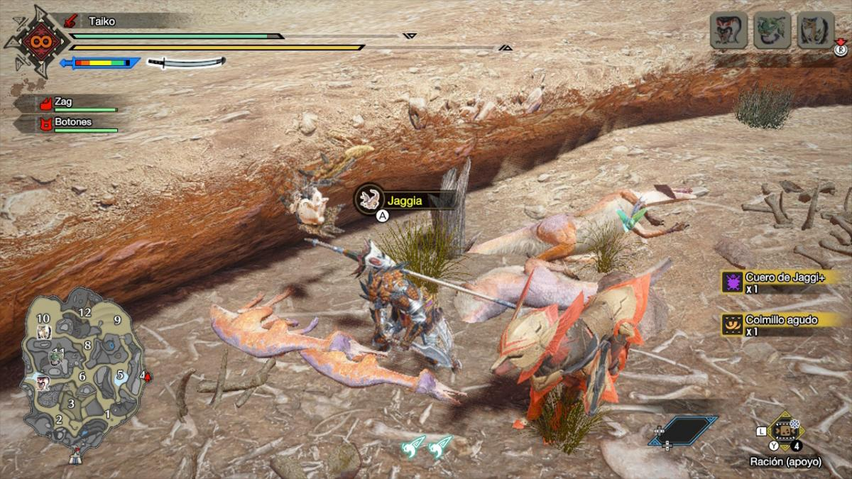 Monster Hunter Rise: how to get Sharp Fang, Sharp Fang, Sharp Claw and Piercing Claw