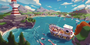 Moonglow Bay announced, an endearing fishing RPG for Xbox Series X, Xbox One and Steam