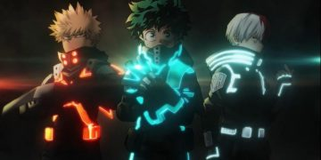 My Hero Academia: World Heroes Mission teaser trailer, with Midoriya in trouble