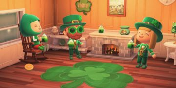 New for Animal Crossing New Horizons in March: Super Mario, St. Patrick's ...