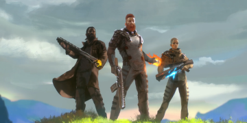 """Outriders tells their story in this animated trailer: """"The planet turned us into weapons"""""""