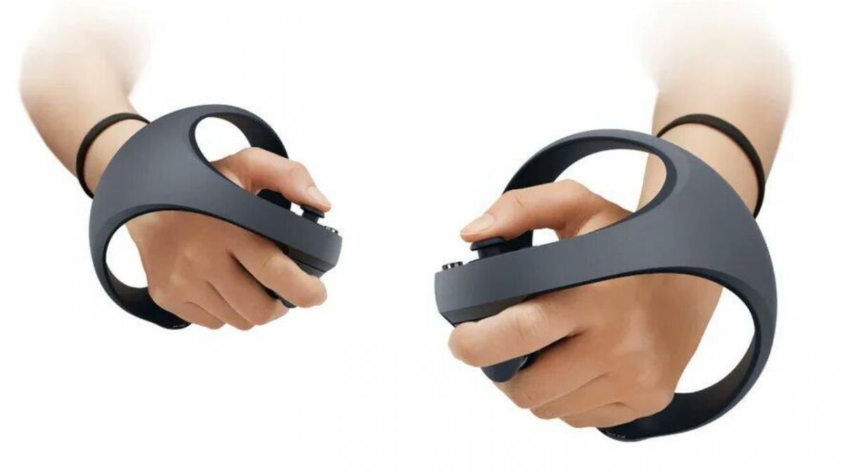 PSVR 2 reveals the design of its virtual reality controllers with adaptive triggers and haptic feedback