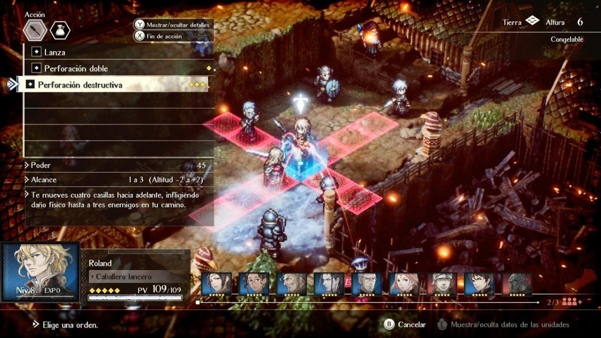 Project Triangle Strategy producer explains why the tactical factor in battles