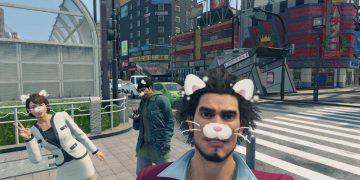 Recreate Yakuza Like a Dragon selfies with built-in cosplay