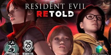 Resident Evil REtold, a remake of Resident Evil 2, made with the Tomb Raider engine, the work of a fan