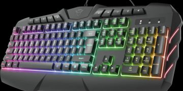 Review of Trust GXT 881 Odyss, a semi-mechanical gaming keyboard with good performance