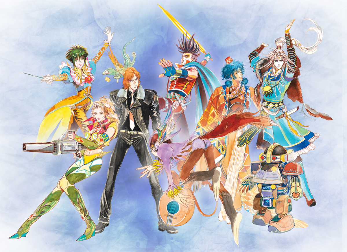 Square Enix details what's new added to SaGa Frontier Remastered