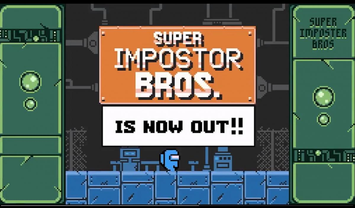 Super Impostor Bros - Among Us fan-made Game Boy title now available