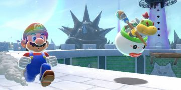 Super Mario 3D World continues to dominate in the UK, driving sales of other Mario games