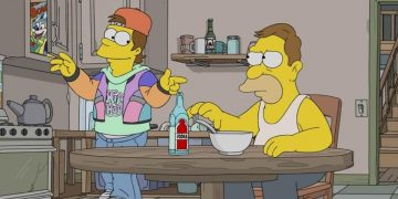 Teen Homer in the 90s?  The producer of The Simpsons justifies the continuity changes