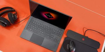 The HP Omen 15 gaming laptop with Ryzen 7 and RTX 2060 on sale for 975 euros at Amazon