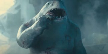The Suicide Squad - James Gunn explains the design of King Shark and how he convinced Stallone to lend him his voice