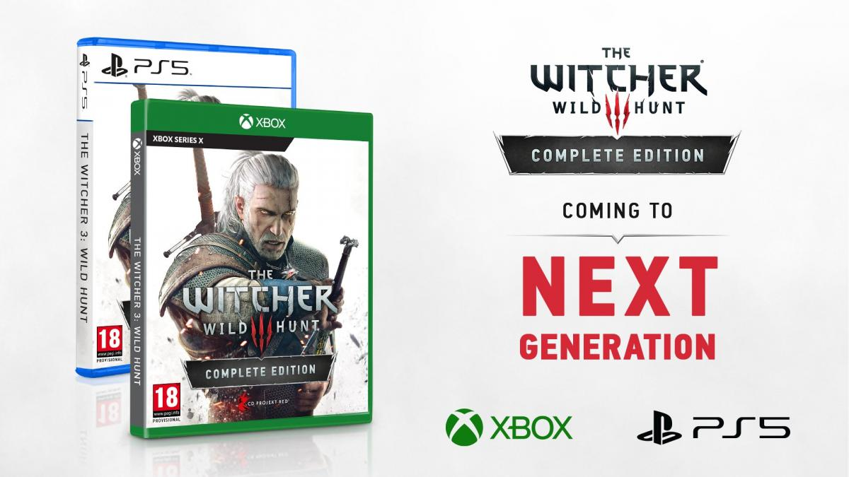 The Witcher 3 is coming to PlayStation 5 and Xbox Series X in the second half of 2021