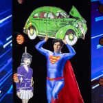 The bizarre Superman theater that has triumphed in Got Talent Italia
