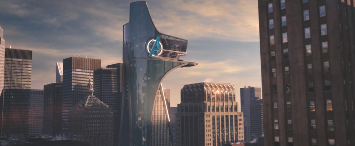 The gigantic Avengers logo hidden in plain sight in Berlin