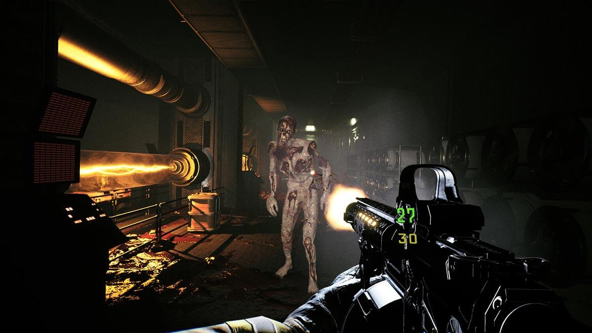 The horror shooter Quantum Error is seen in a new gameplay on PS5, PS4 and Xbox Series X   S