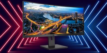 The new Philips curved monitor has 32 inches, 1440p resolution and 100Hz to play for 381 euros