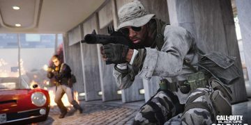 They arrest a prisoner escaped from jail when he was leaving to buy Call of Duty Black Ops Cold War in a store
