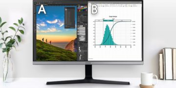 This 28-inch Samsung 4K monitor is perfect for mixed use and only costs 279 euros at Amazon