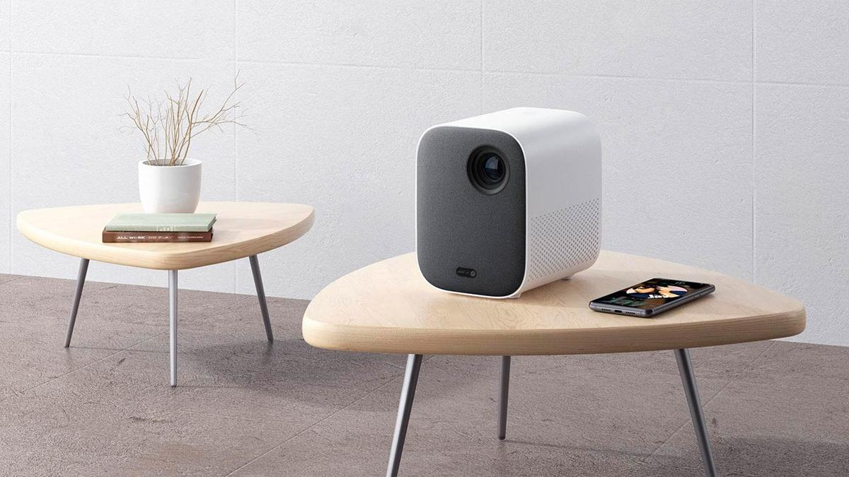 This Xiaomi portable projector gives you up to 200 inches of projection with Android TV and built-in Google assistant for 370 euros