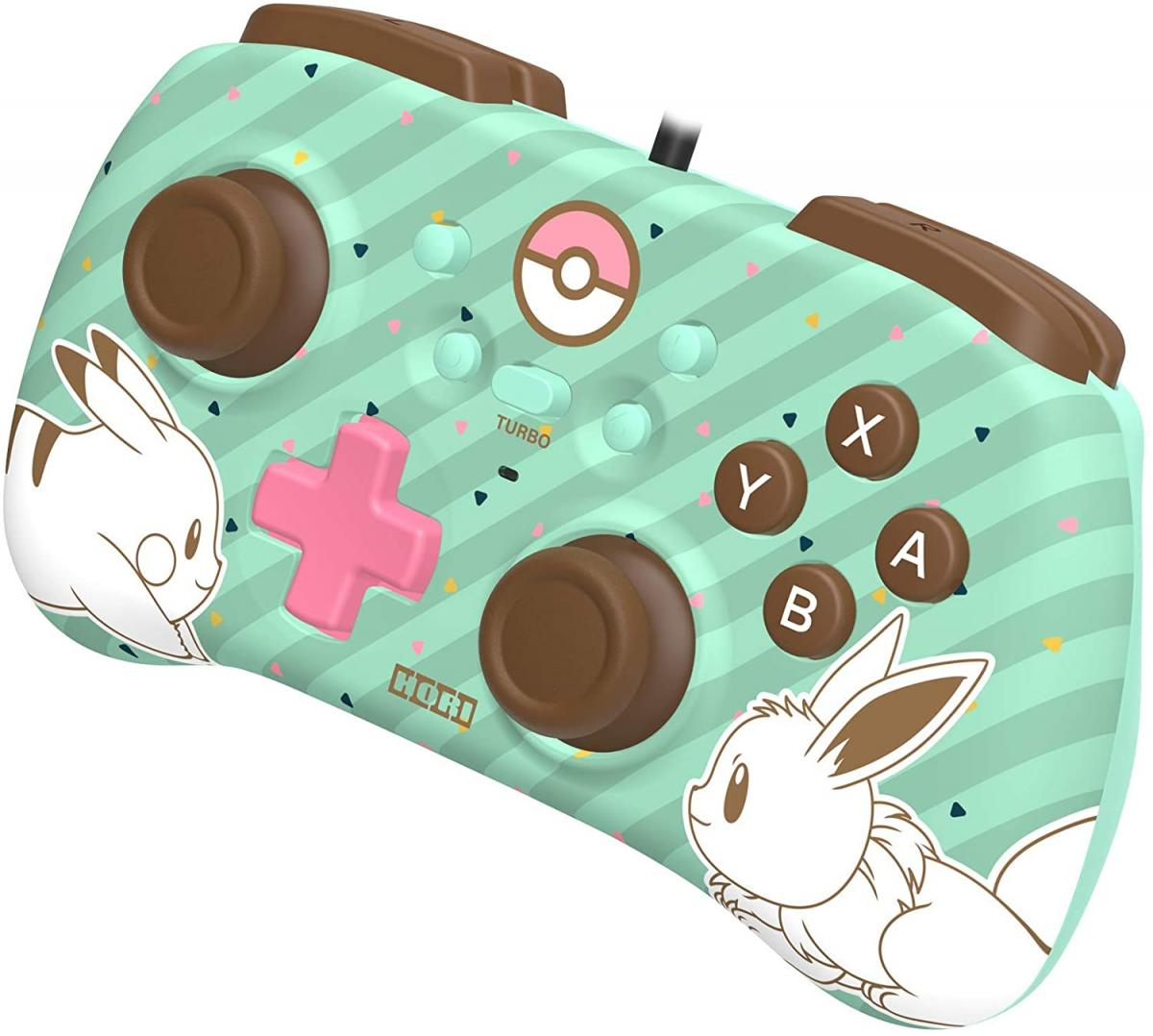 This controller for Nintendo Switch is officially licensed with a Pikachu and Eevee design and costs only 19.99 euros