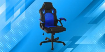 This gaming chair is one of the cheapest on the market: it is sold by Amazon and costs only 84.99 euros