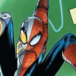 This is what the new Spider-man costume from the comics looks like in action
